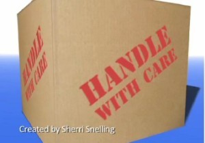 Handle with Care created by Sherri Snelling