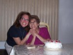 Jenny Montalbano and her mom