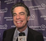 Getting a laugh out of Peter Gallagher when I told him Covert Affairs was one of my favorite TV shows – he cared for his mom for 20 years
