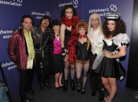 "Big Bang Theory cast after performing ""Rocky Horror Picture Show"""