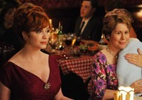 Mad Men's Joan Harris - squeezed between baby, mom and work