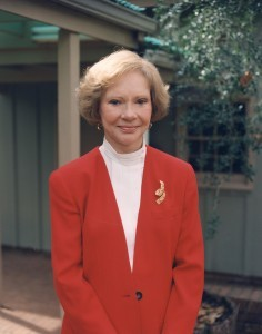 Rosalynn Carter at Home in Plains, GA