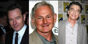 Bryan Cranston, Peter Gallagher, Victor Garber