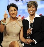 Robin Roberts and Sally Ann