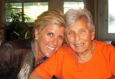 Suze Orman and mom Ann