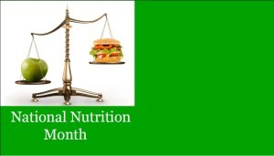 MAR 2015 Nutrition Month