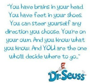 Dr Seuss Brains in My Head
