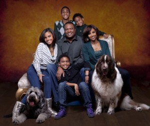 GROUP4660RT Peete family portrait