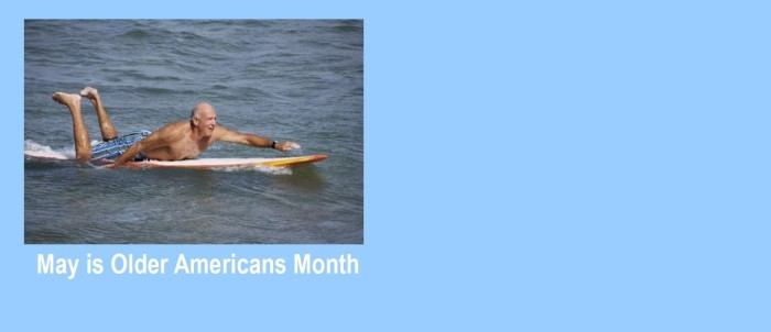 MAY Older Americans Month