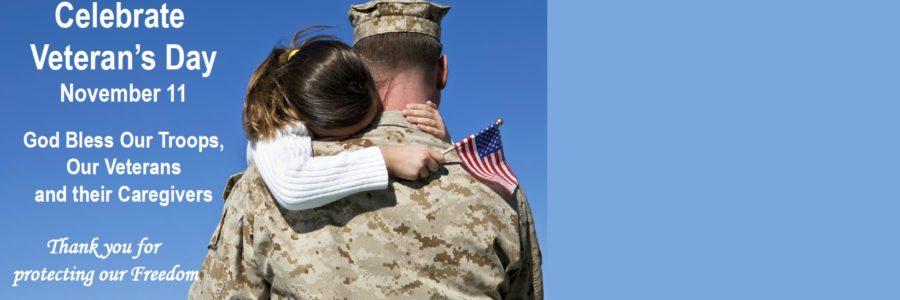 November 11 is Veteran's Day
